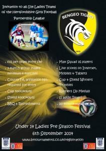 U14 Ladies Pre Season Festival 2014