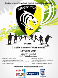 Summer Tournament 2014