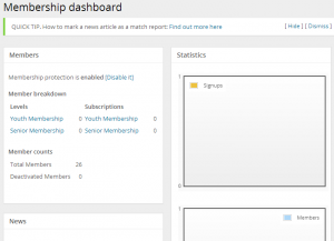 Membership Dashboard